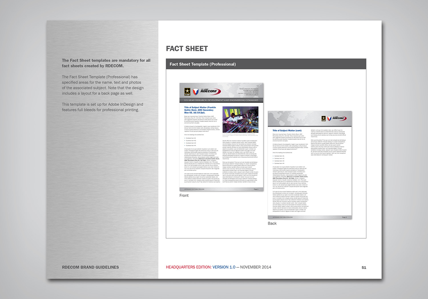 Great Product Fact Sheet Template Pictures Inspiration - Entry Level ...