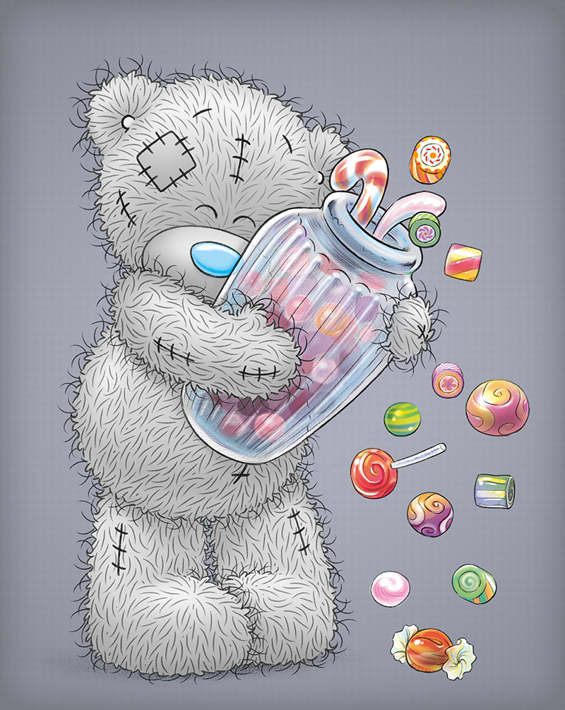 Tom barnfield me to you me to you is the flagship brand of carte blanche greetings ltd it features a grey teddy bear character with a blue nose called tatty teddy m4hsunfo