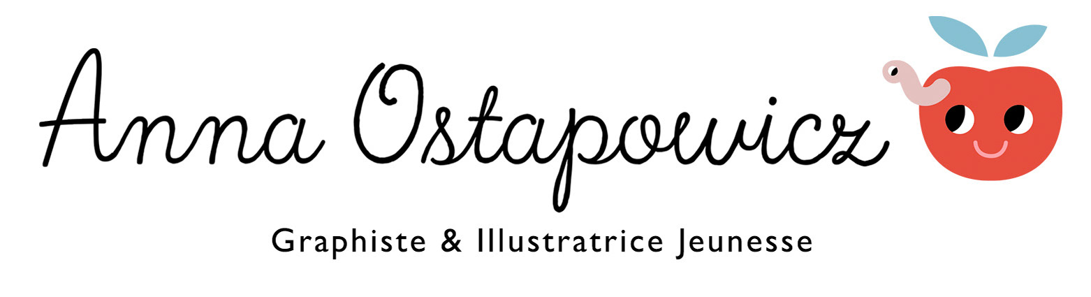 Anna Ostapowicz - Graphiste & Illustratrice Jeunesse