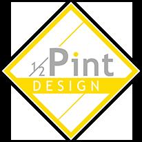 1/2 Pint Design by Amanda Bonner