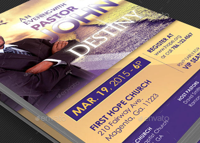 Michael Taylor - Godserv - Print Template Portfolio - Church