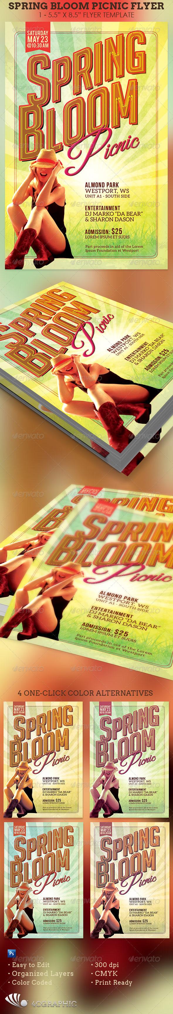 Michael Taylor Godserv Print Template Portfolio Spring Bloom