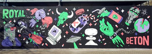 FREAK CITY - ROYAL BETON x Mural