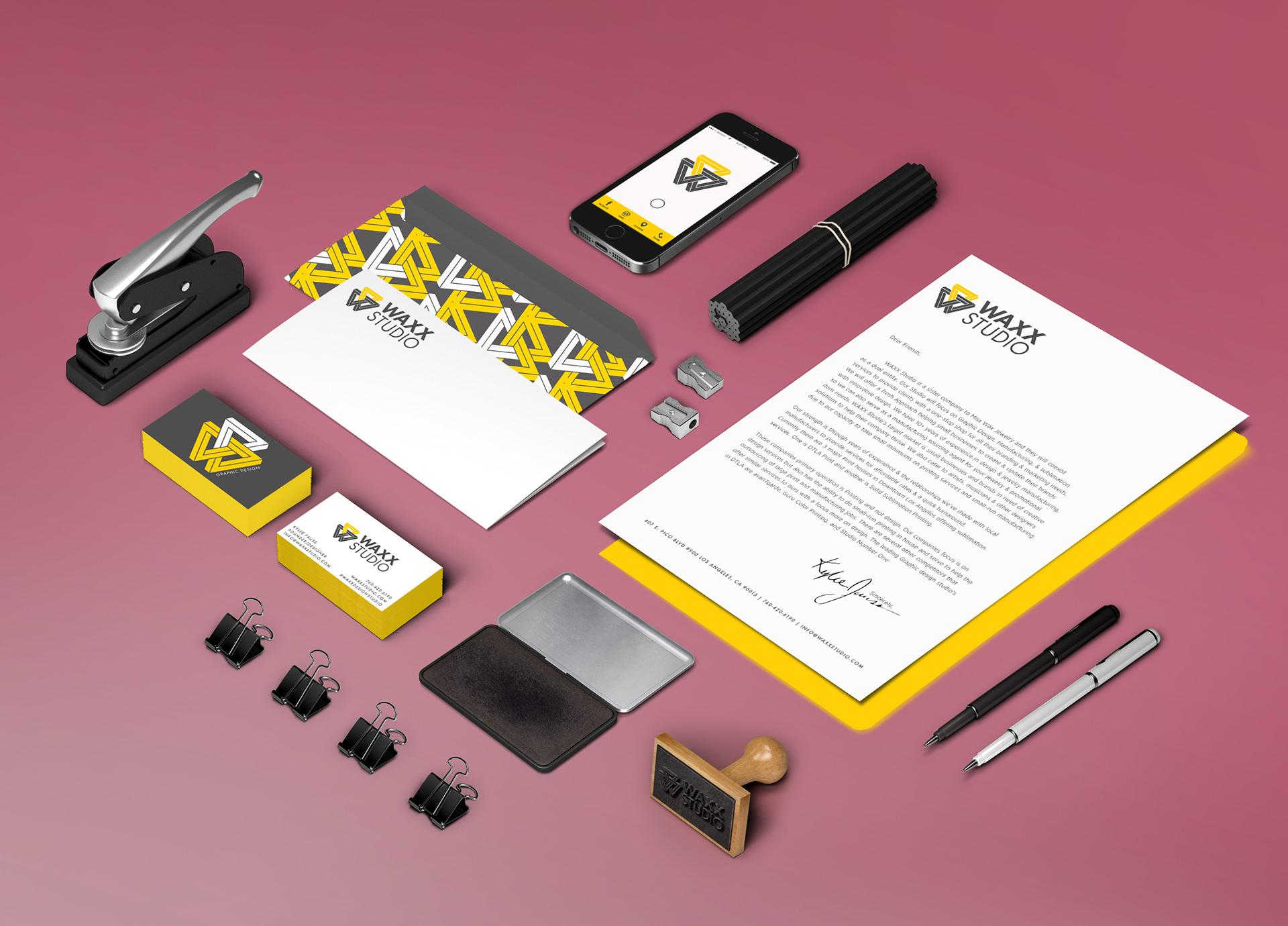 WAXX Studio - WAXX studio re-branding