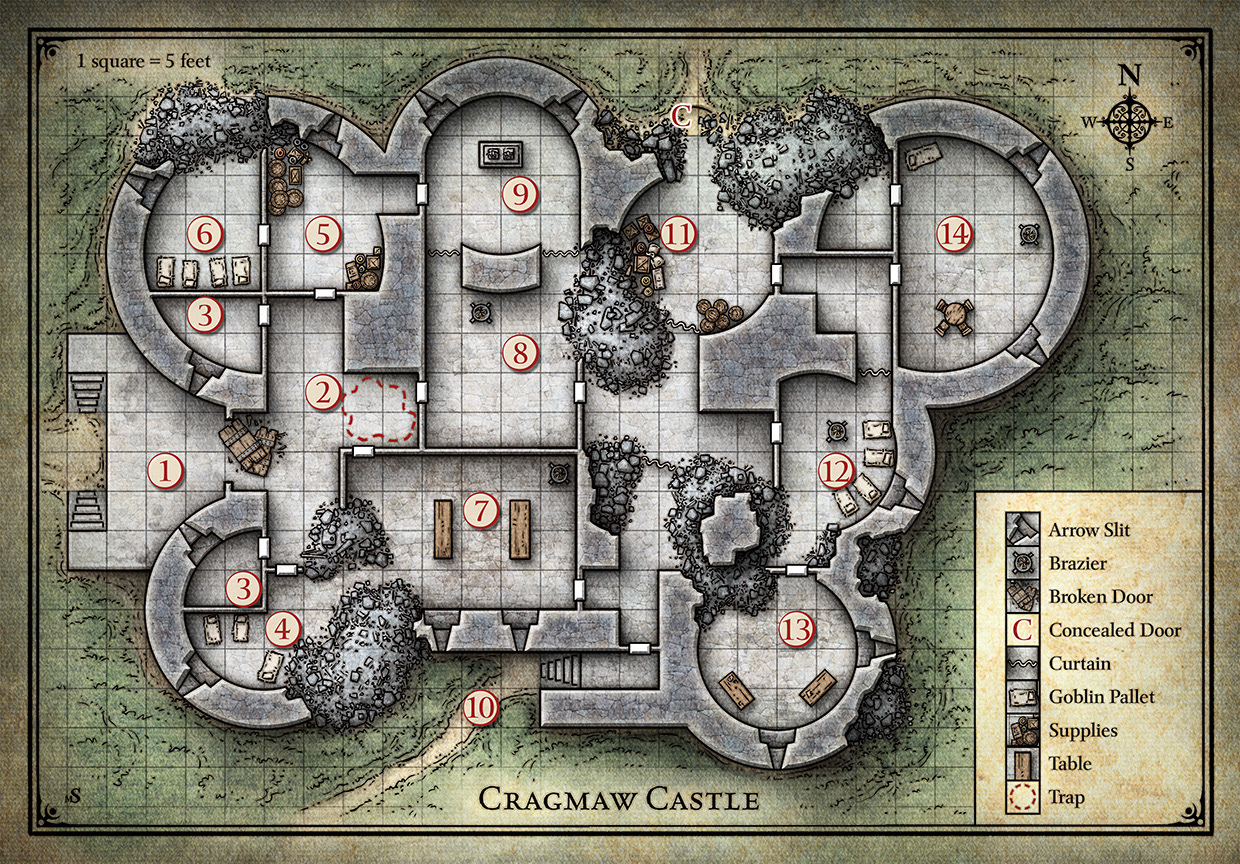Mike Schley\'s Portfolio - Tactical Game Maps