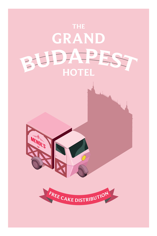 Qaartworks Grand Budapest Hotel Mendl S