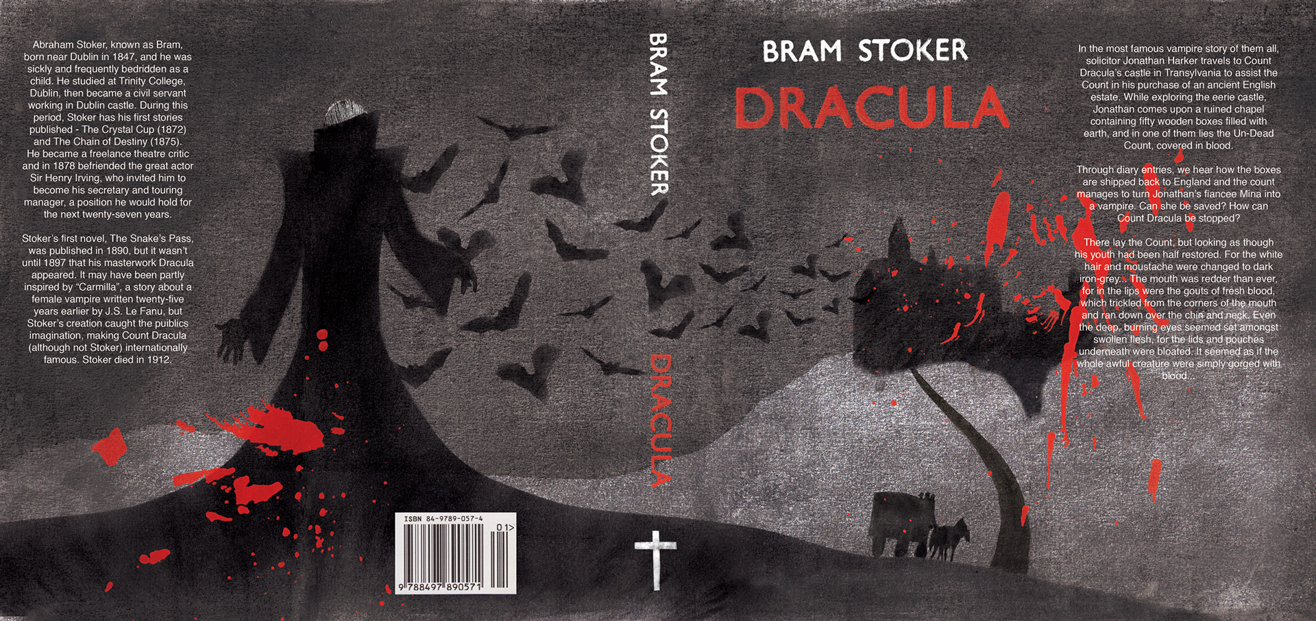 psychoanalytical analysis of bram stokers dracula A psychoanalytical reading of emily brontës bram stokers dracula a study on the fundamentals of the analysis and design of shell structures.