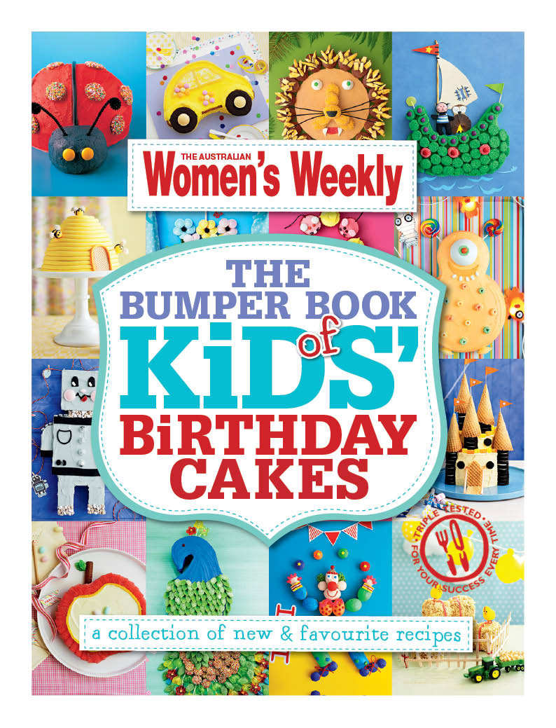 Lulu Fay Aww Bumper Book Of Kids Birthday Cakes