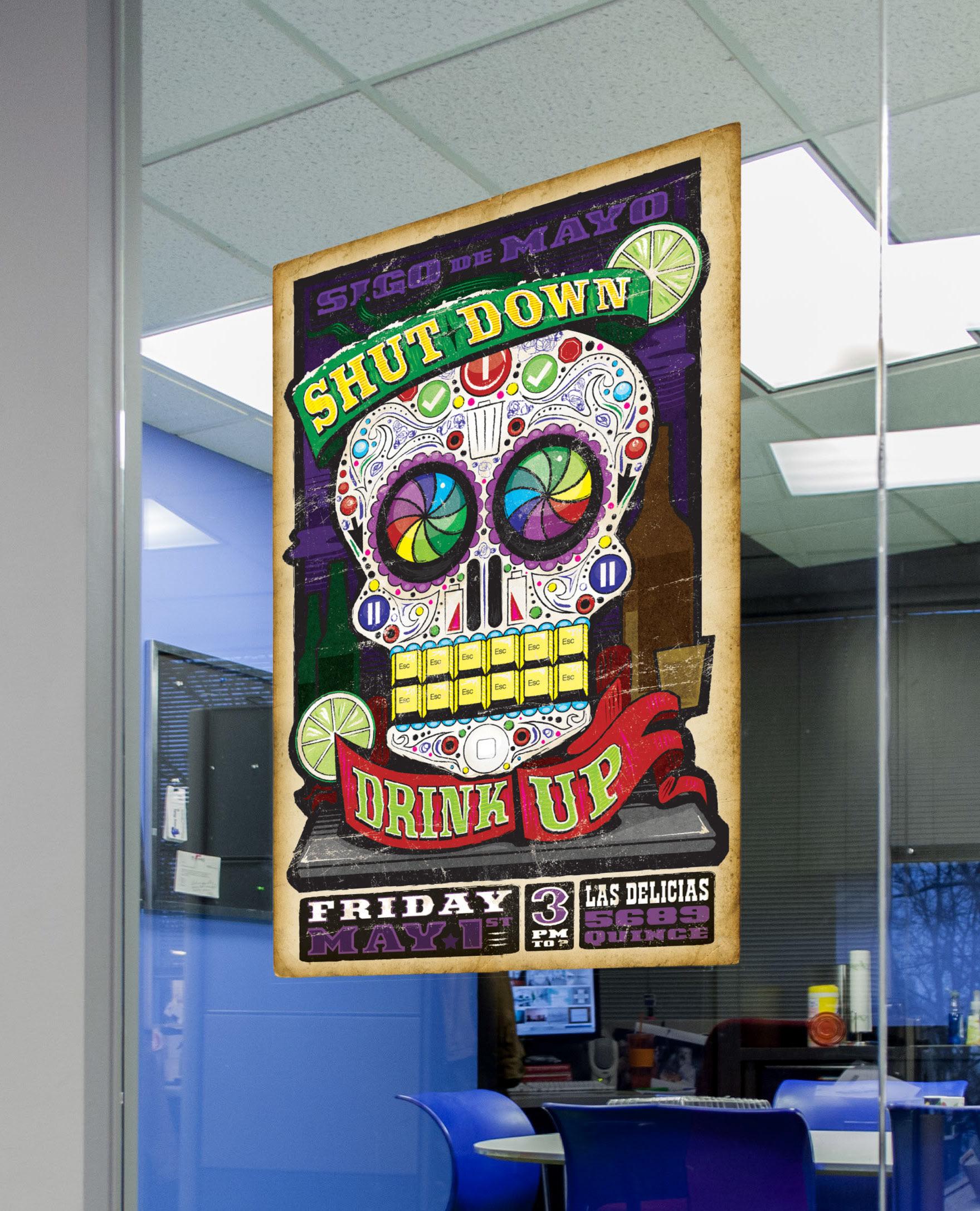 Office ideas for cinco de mayo - Cinco De Mayo Party Poster