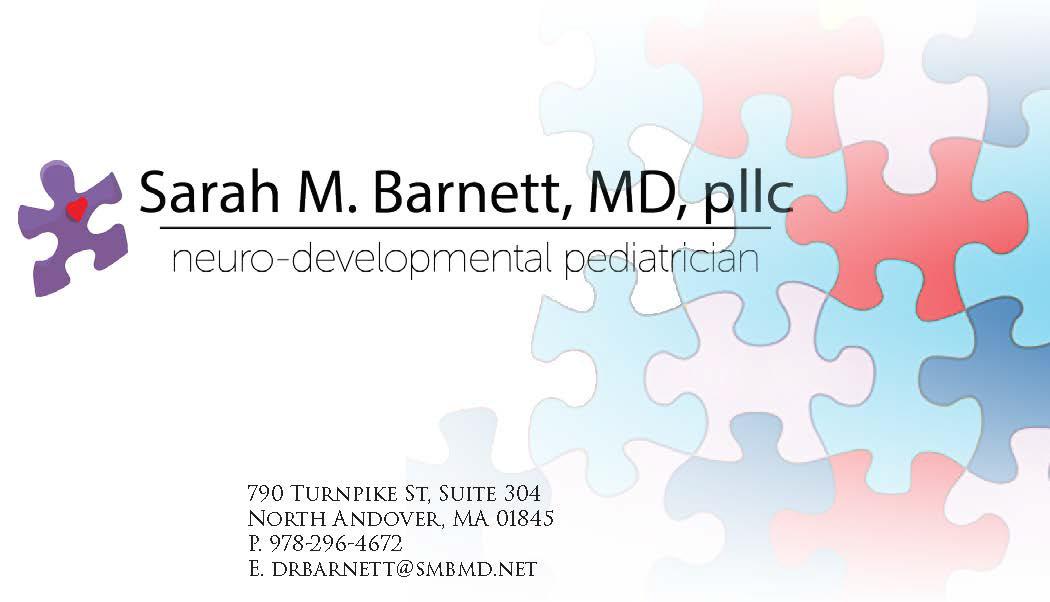 Ben Kahan - Sarah M. Barnett, MD, pllc. Business Card Design