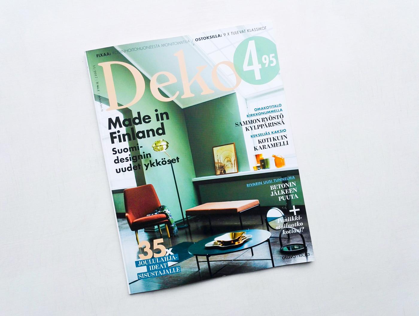 Leena Kisonen - Featured in Deko magazine