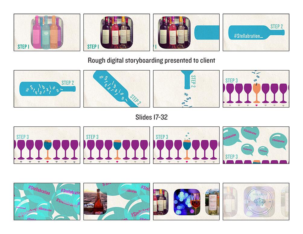 i design creative digital print handcraft stella rosa motion work. Black Bedroom Furniture Sets. Home Design Ideas