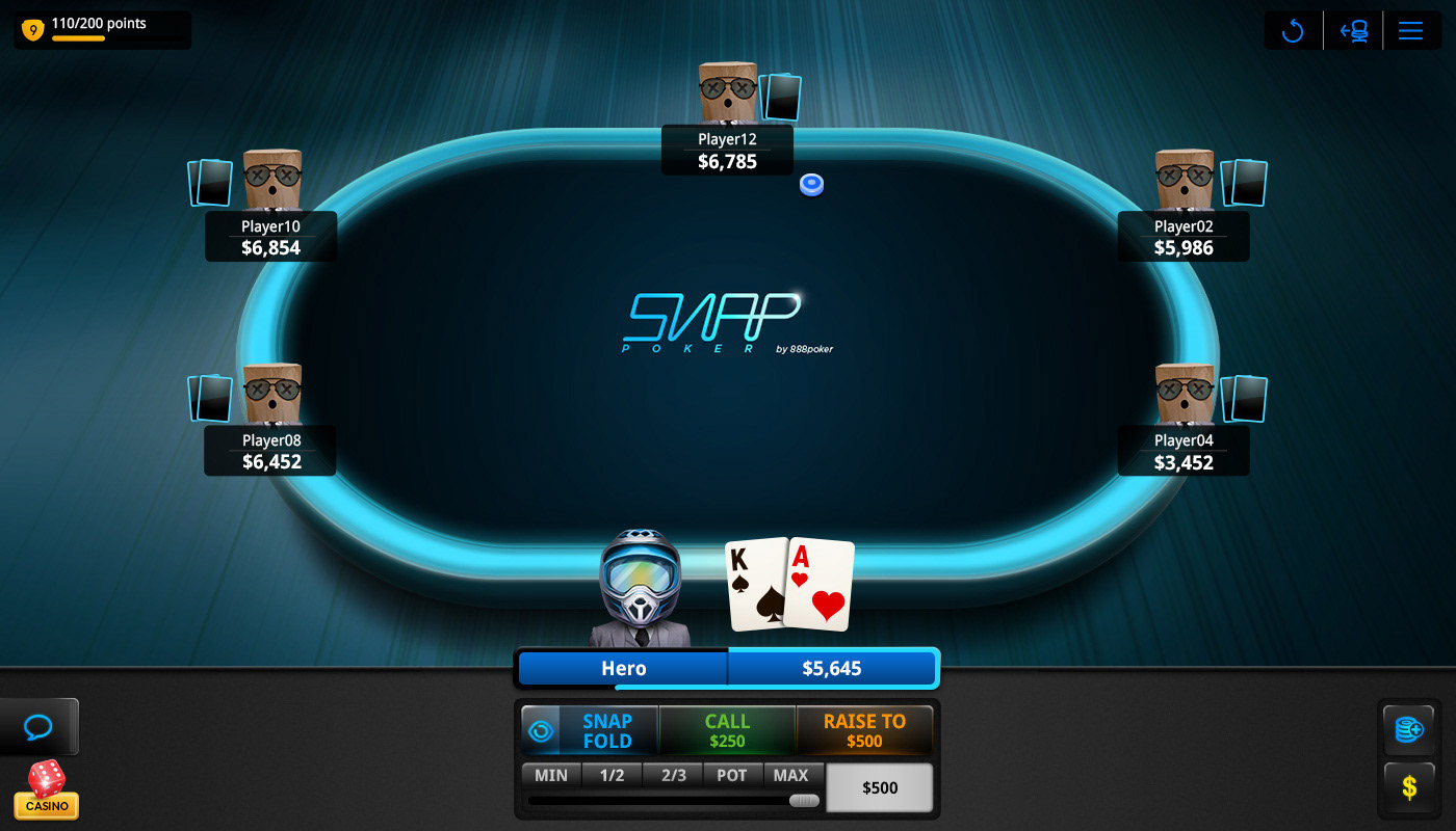 Ruth Gommershtadt Snap Poker