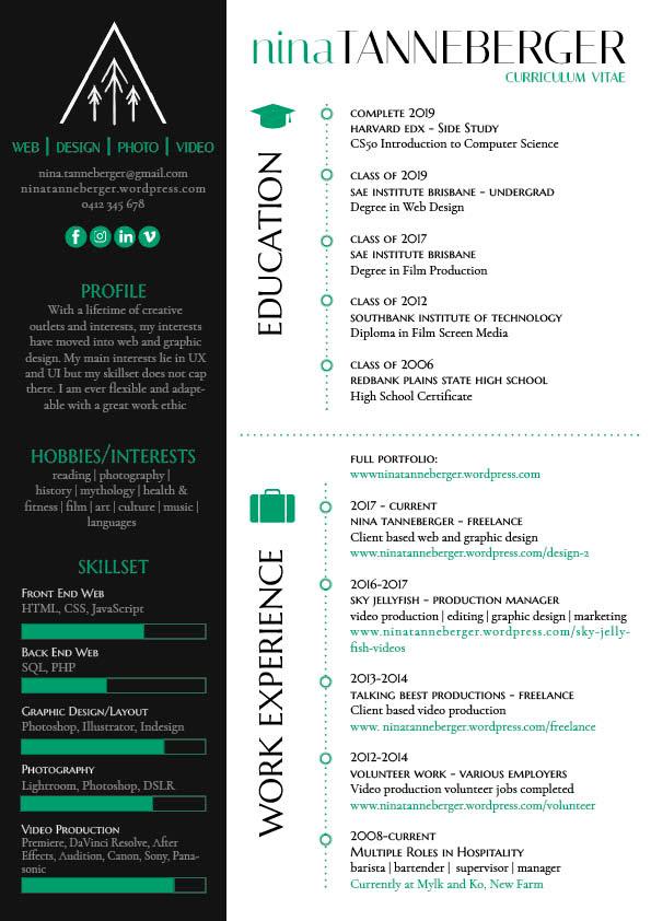 Nina Tanneberger - Resume/Curriculum Vitae