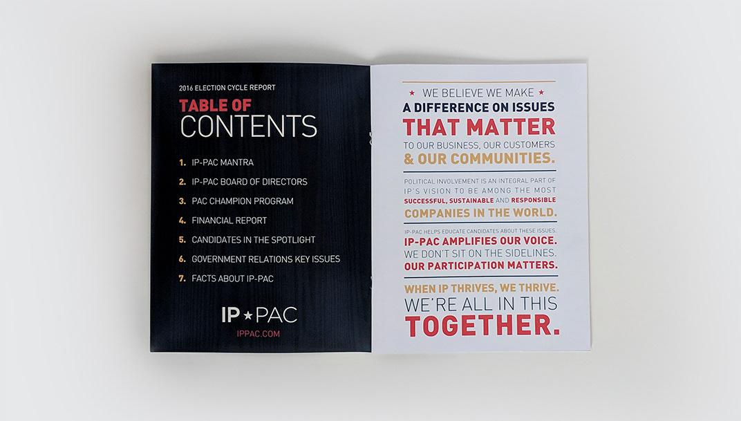 Natalie Talis - IP PAC Report