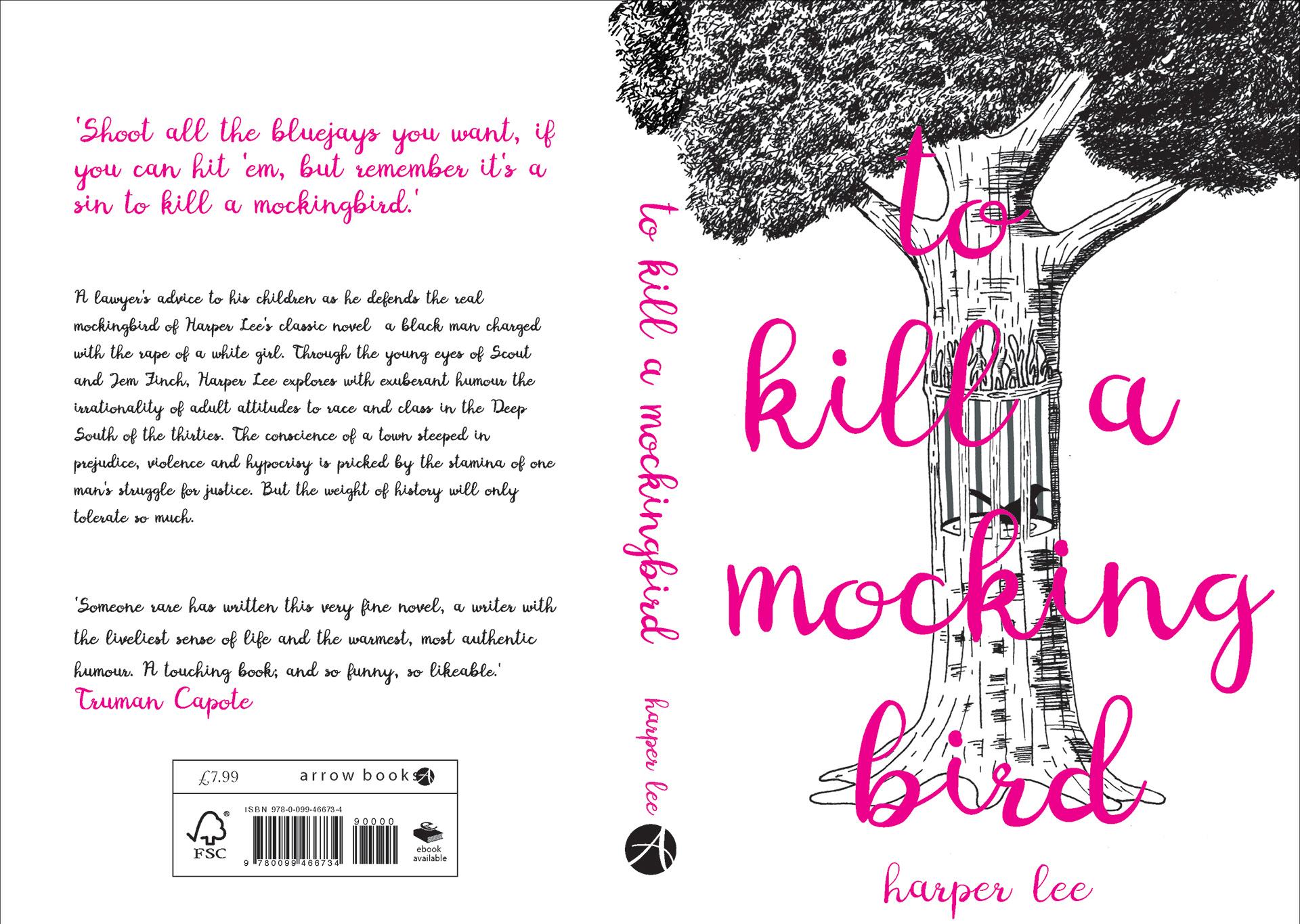 to kill a mockingbird book jacket