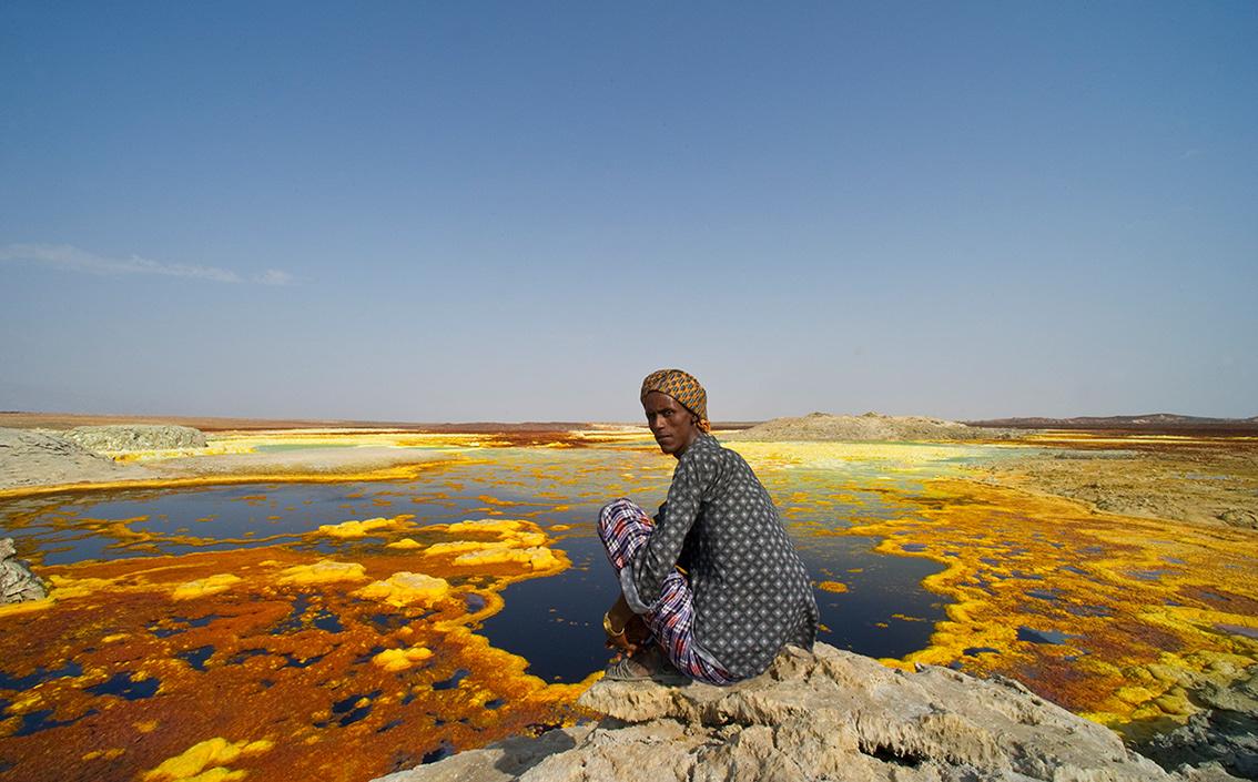 where in ethiopia is the danakil depression