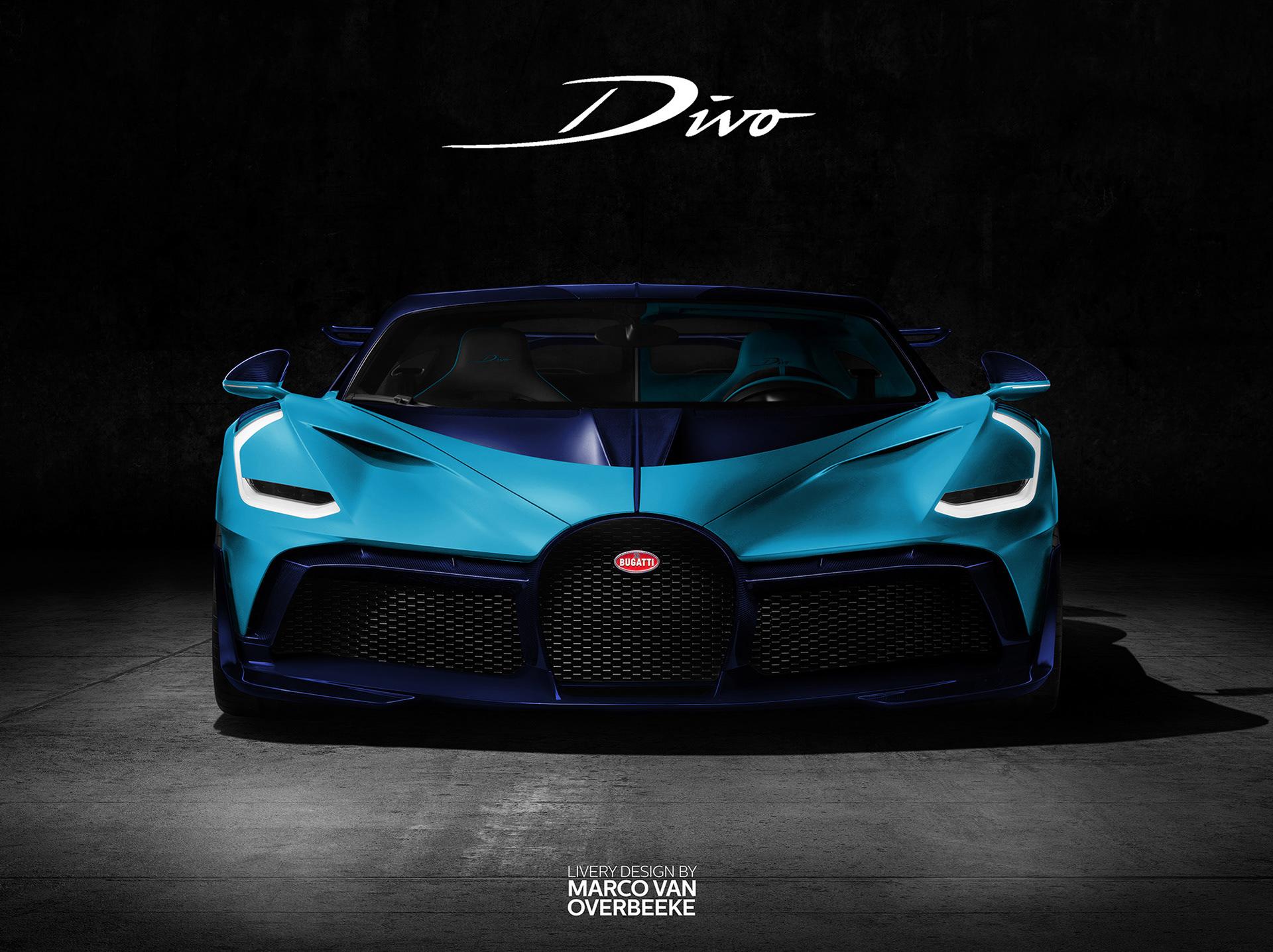 Marco Van Overbeeke Freelance Automotive Designer Bugatti Divo