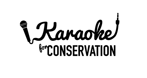 janelle budell karaoke for conservation logo design