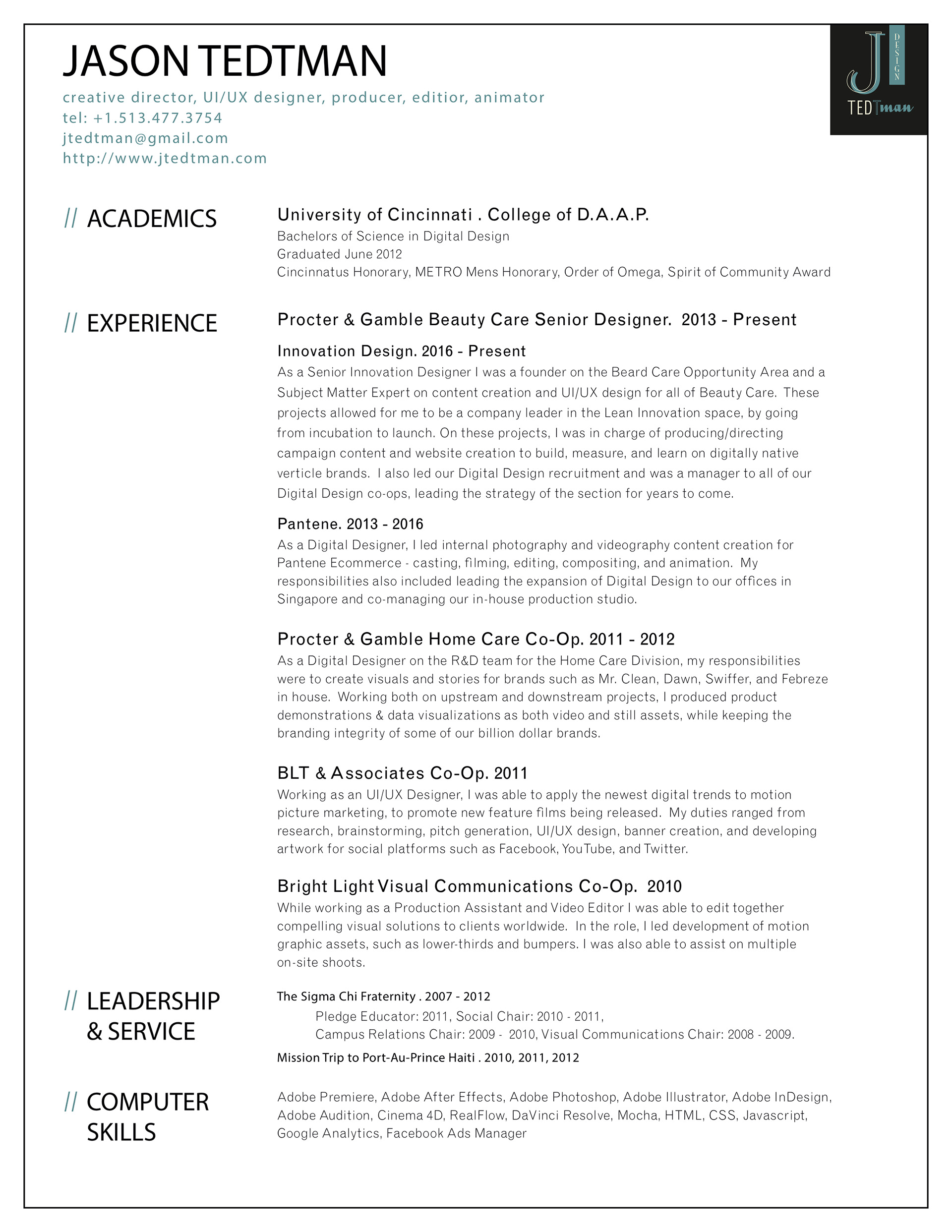 Senior Producer Studio Manager Resume