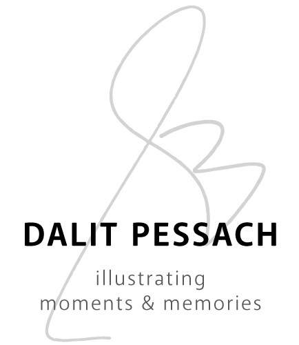 Dalit Pessach Illustrations