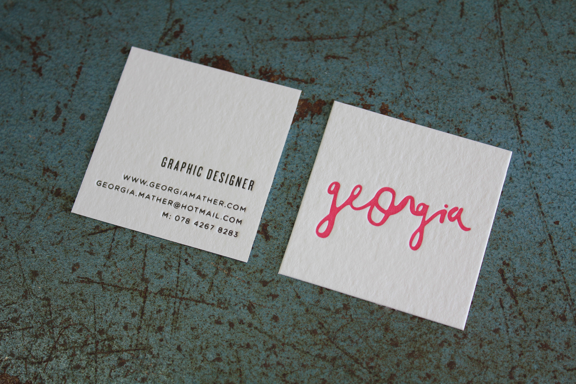 Georgia Mather Georgia Mather Business Cards