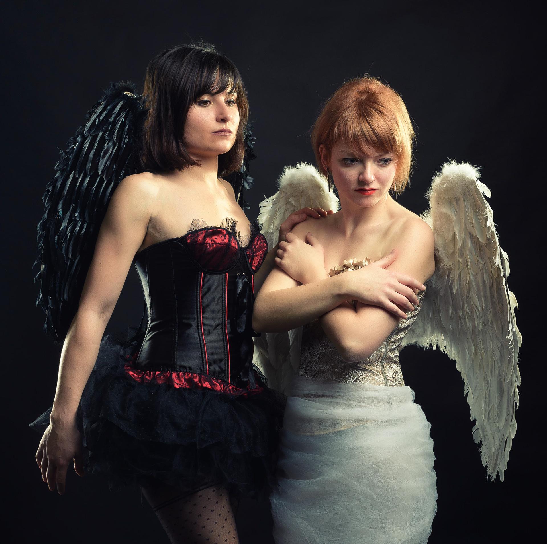 фото ангел и бес считаете была