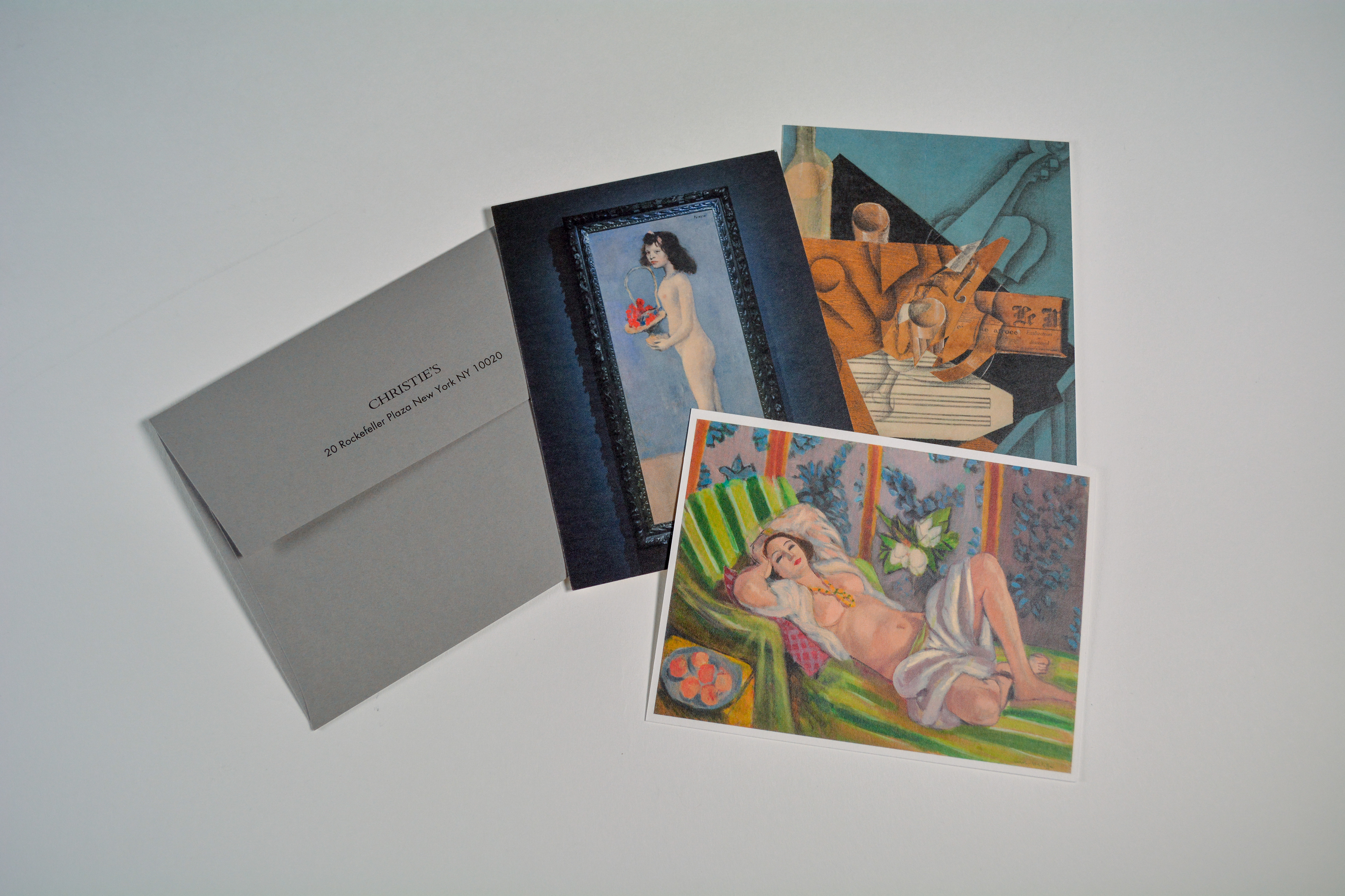 Shown Are The Tickets For 19th And 20th Century Art Evening Sale Held In New York On May 8 2018 From Left To Right Following Mailing