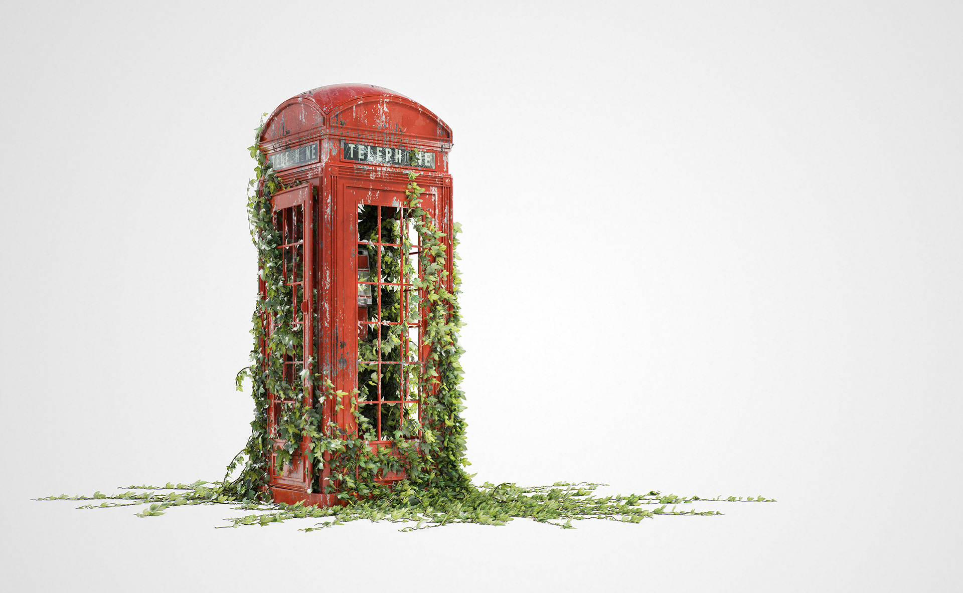Image result for London's red phone boxes 1920