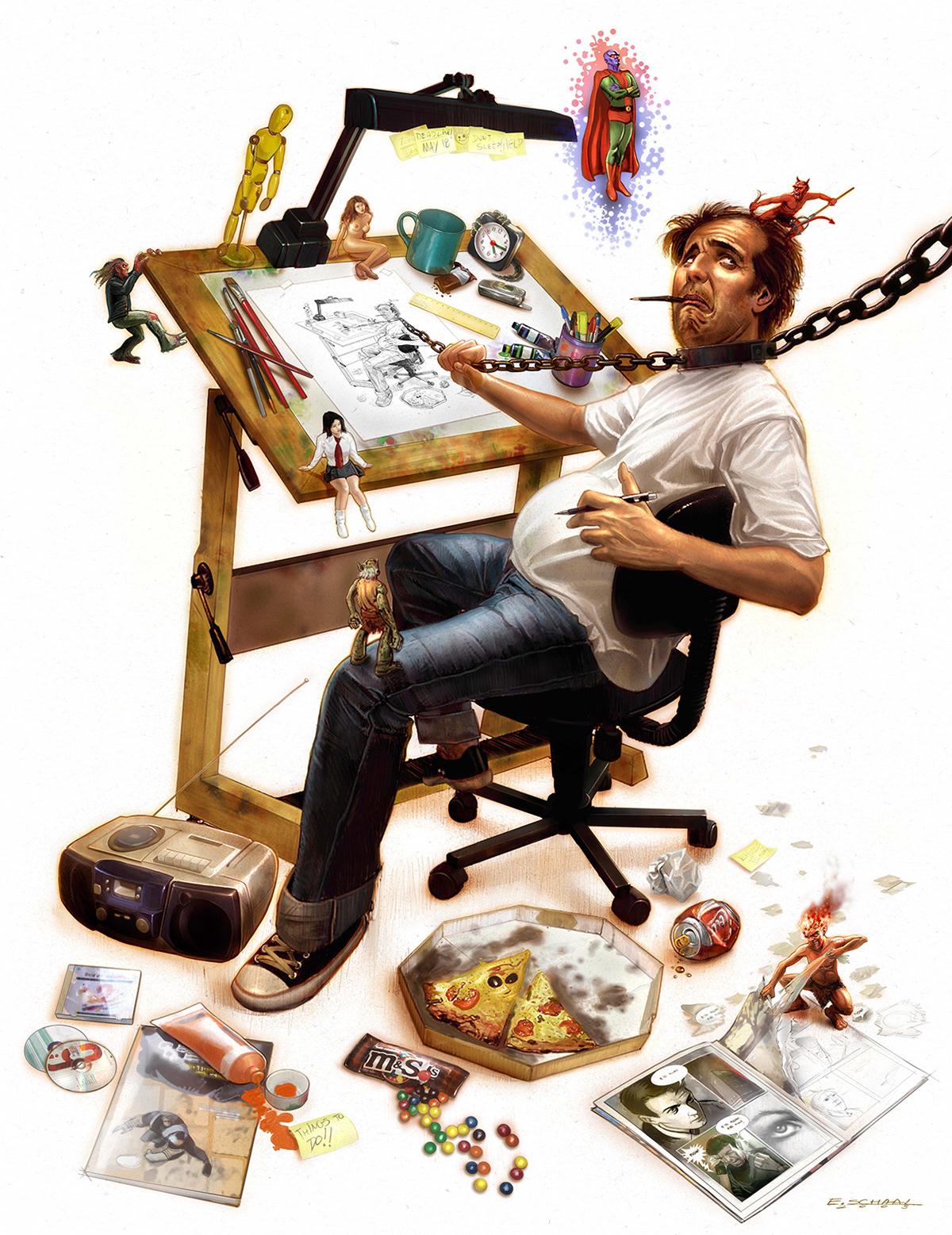 переднего тормозного фото приколы про художников чтобы сделать