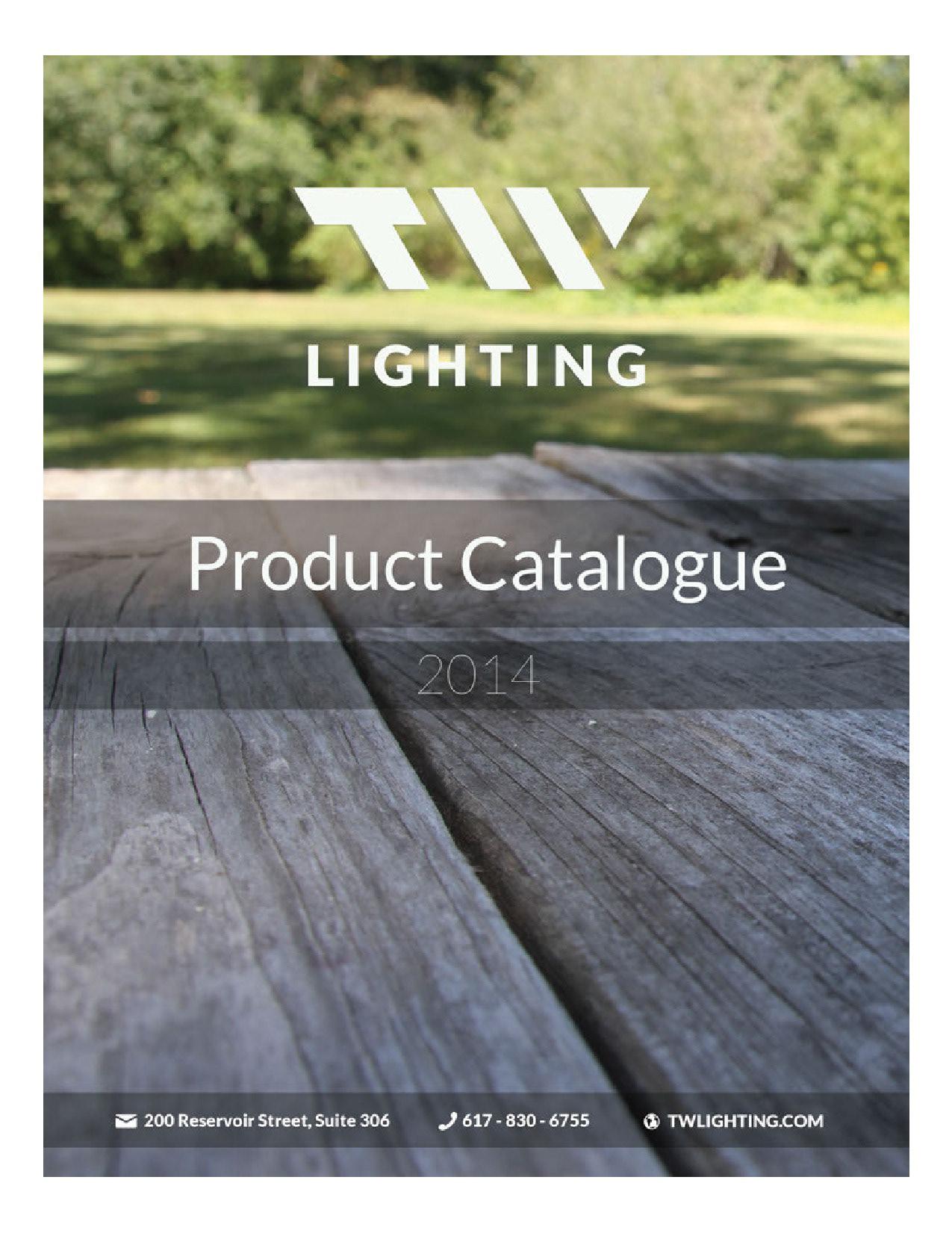 Tw Lighting Catalogue