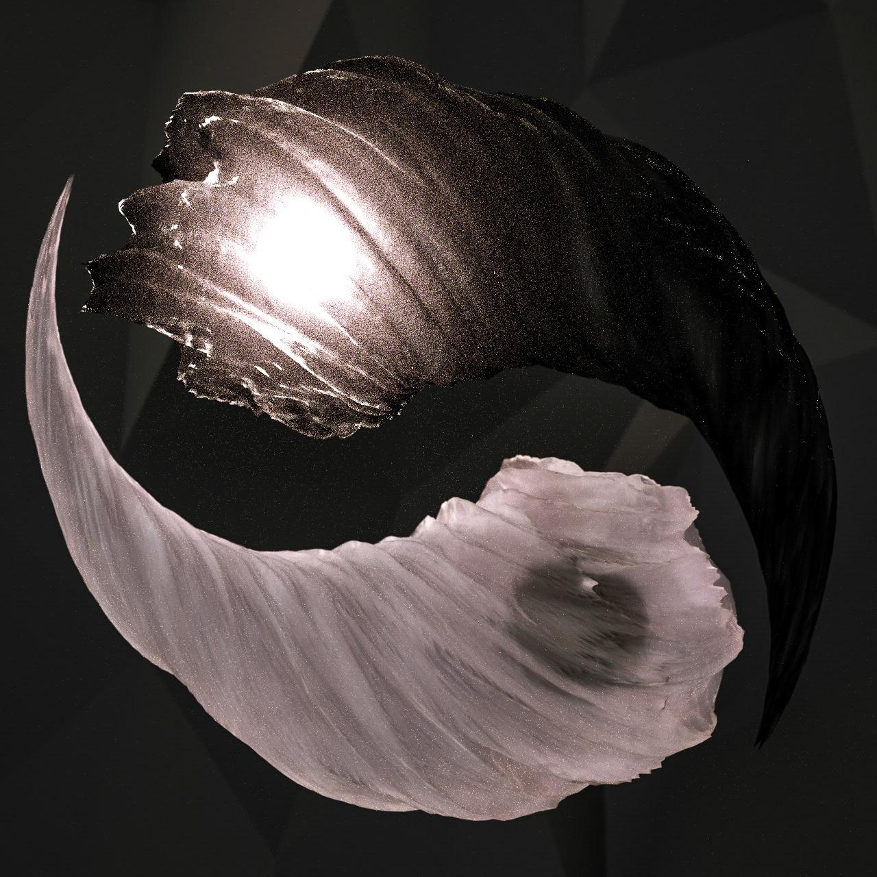 ying yaNG SYMBOL 3d classic