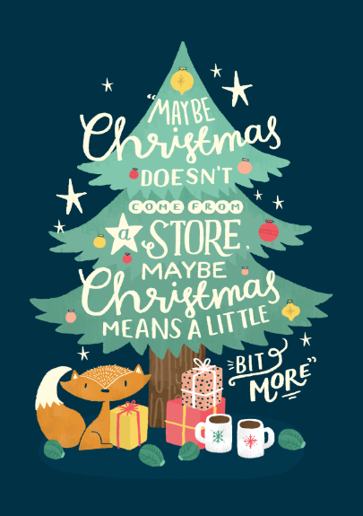 Christmas Illustration.Steph Baxter Freelance Hand Lettering And Illustration