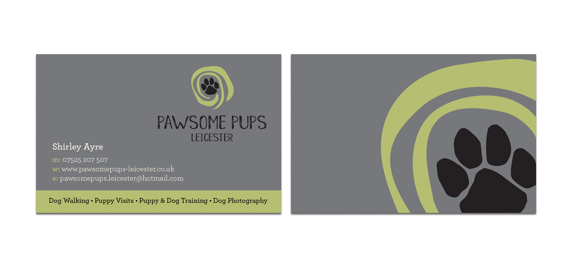 Luxury Dog Trainer Business Cards Mold - Business Card Ideas ...