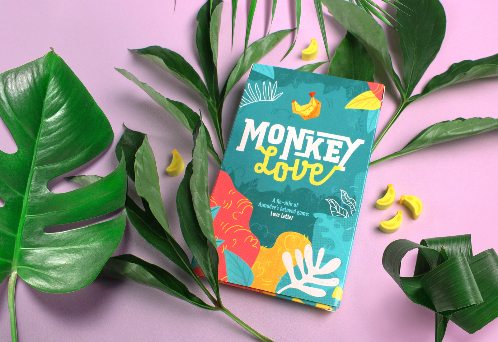 Melissa De Nobrega Monkey Love Card Game