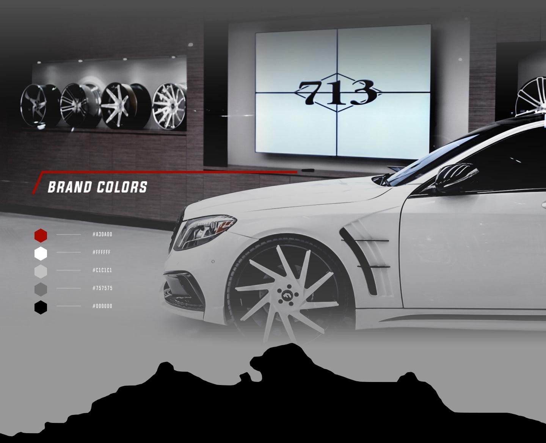 Rebrand Campaign for 713 Motoring & Collision