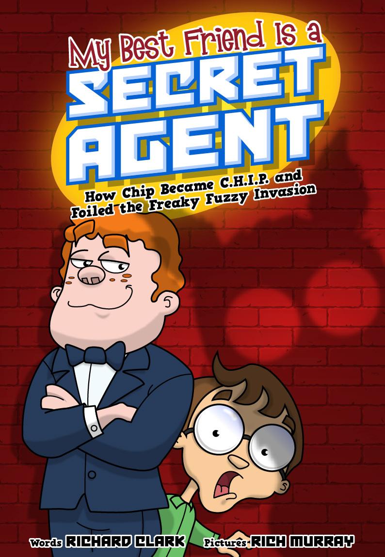 Richtoons My Best Friend Is A Secret Agent Illustrations Layout