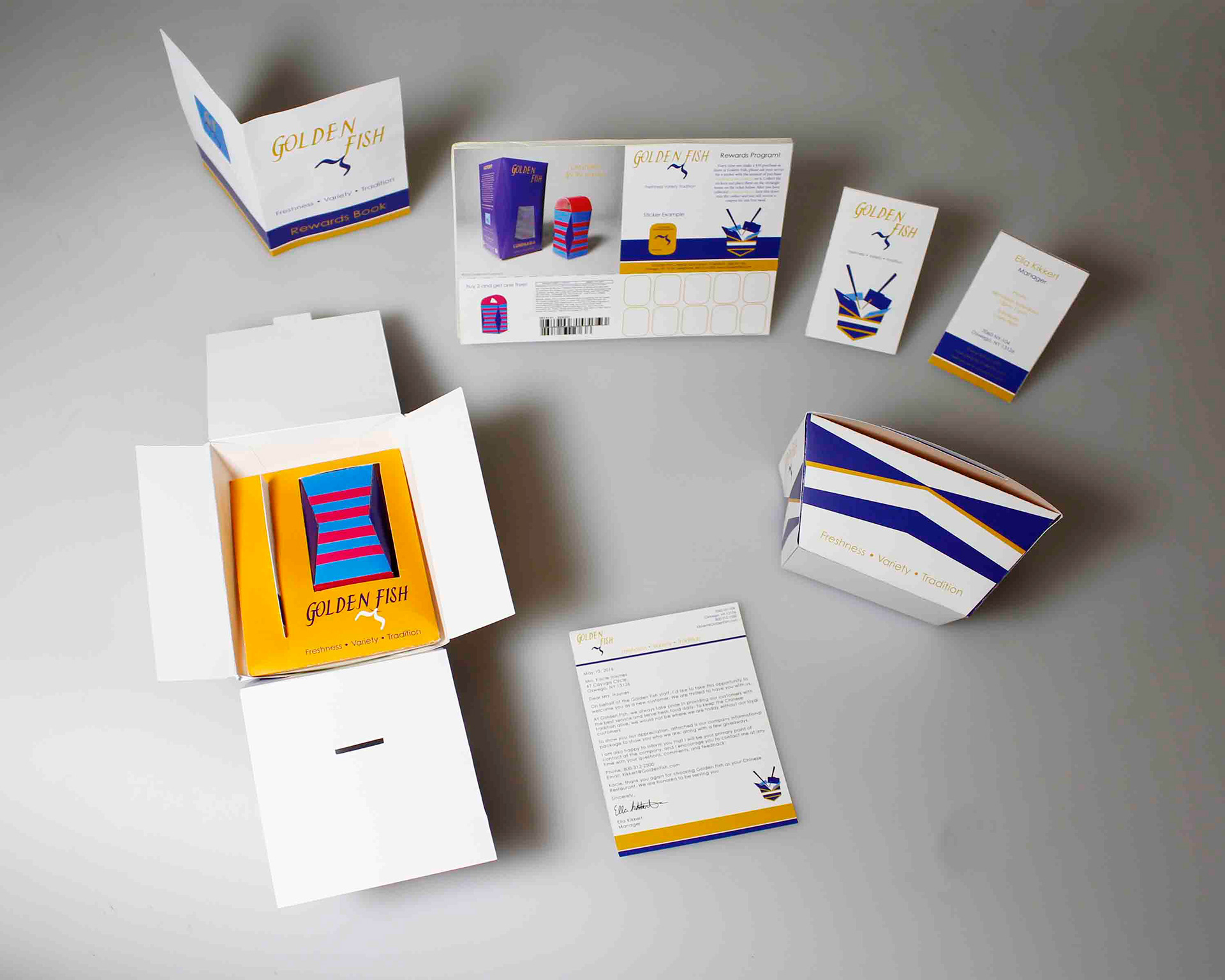 Ella kikkert prospect kit this package design includes a die cut box to store all the content tab inserts used to neatly organize the material a business card rewards book reheart Choice Image