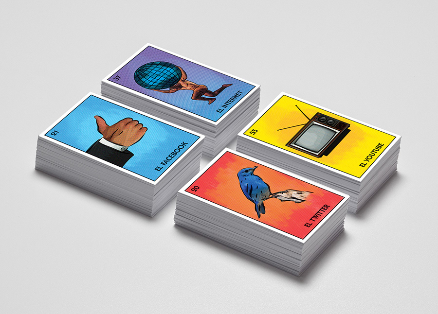 Sixto-Juan Zavala - Lotería Social Media Business Cards