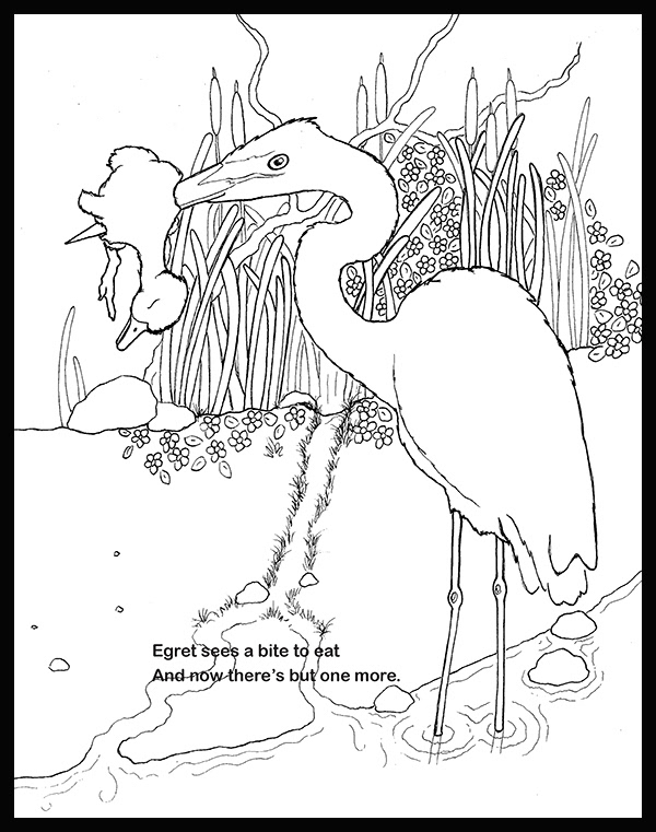 Marlaena Shannon - Bad Day For Baby Duck (coloring book)