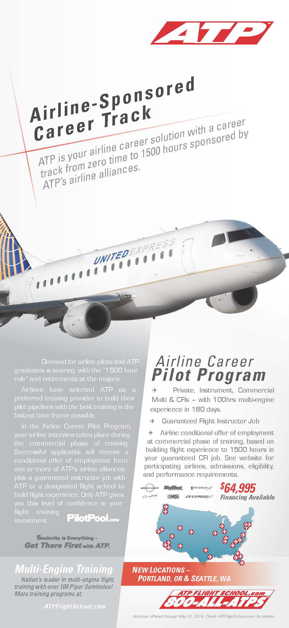 Jared Trask Atp Flight School Magazine Ads