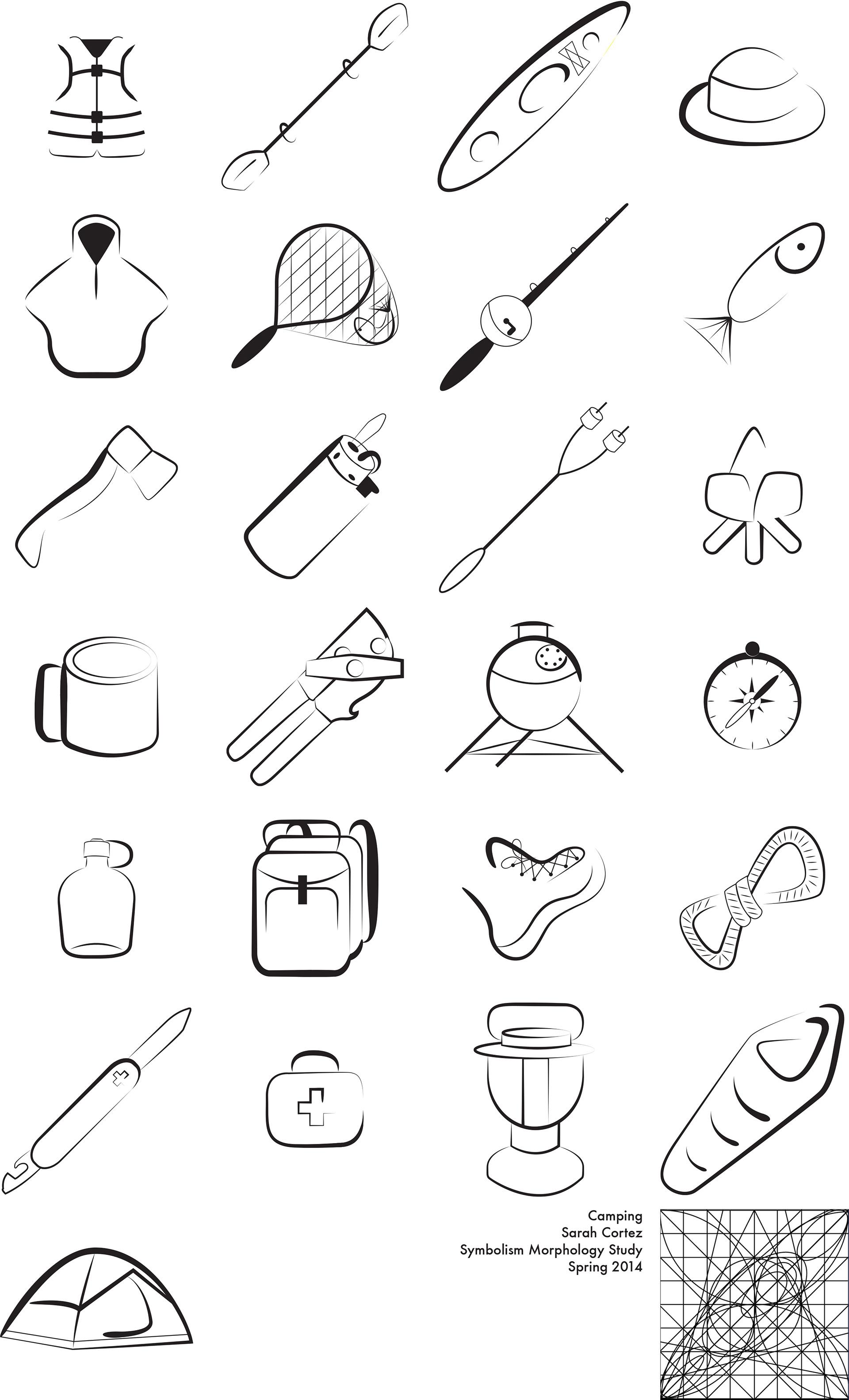 Sarah Cortez Symbol Morphology Study