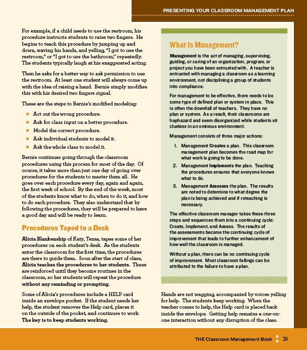 Zebra Graphics - Classroom Management Book (textbook)