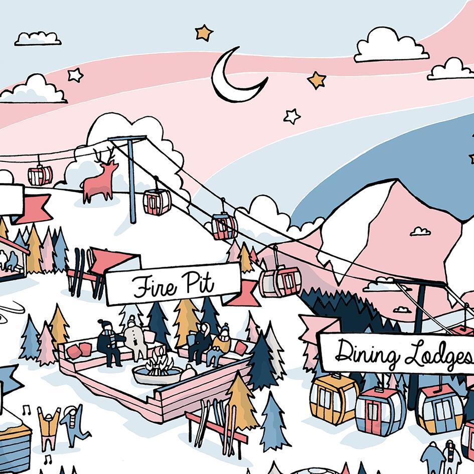 Liviwhit Com Olivia Whitworth Illustration Winterland 2018 Map