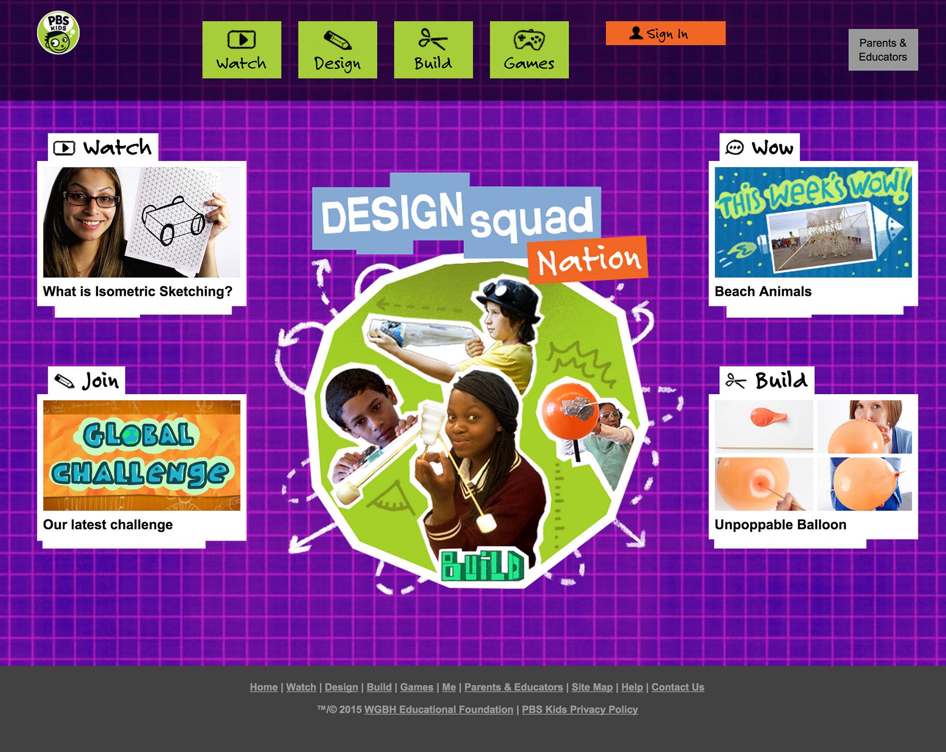 Design Squad Website >> Tara Taylor User Experience Designer Design Squad Redesign