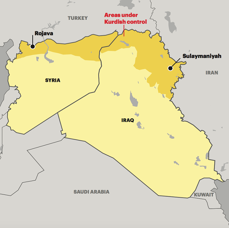 david foster graphics syria and iraq map