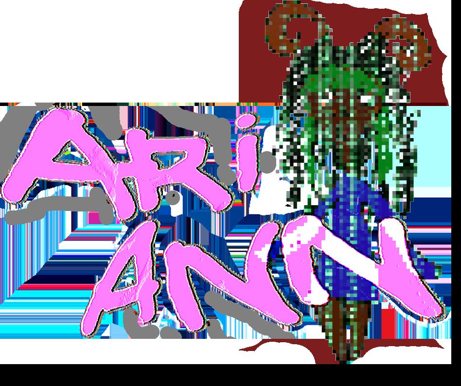 cyber logo of ariann encoded
