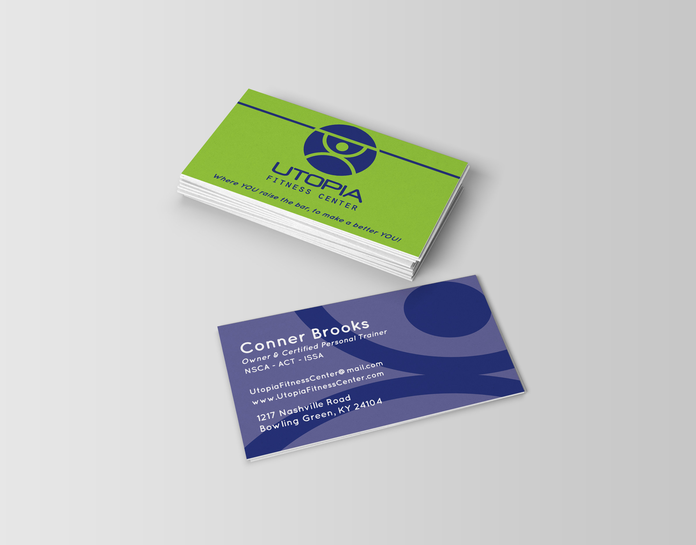 personal trainer business cards ideas