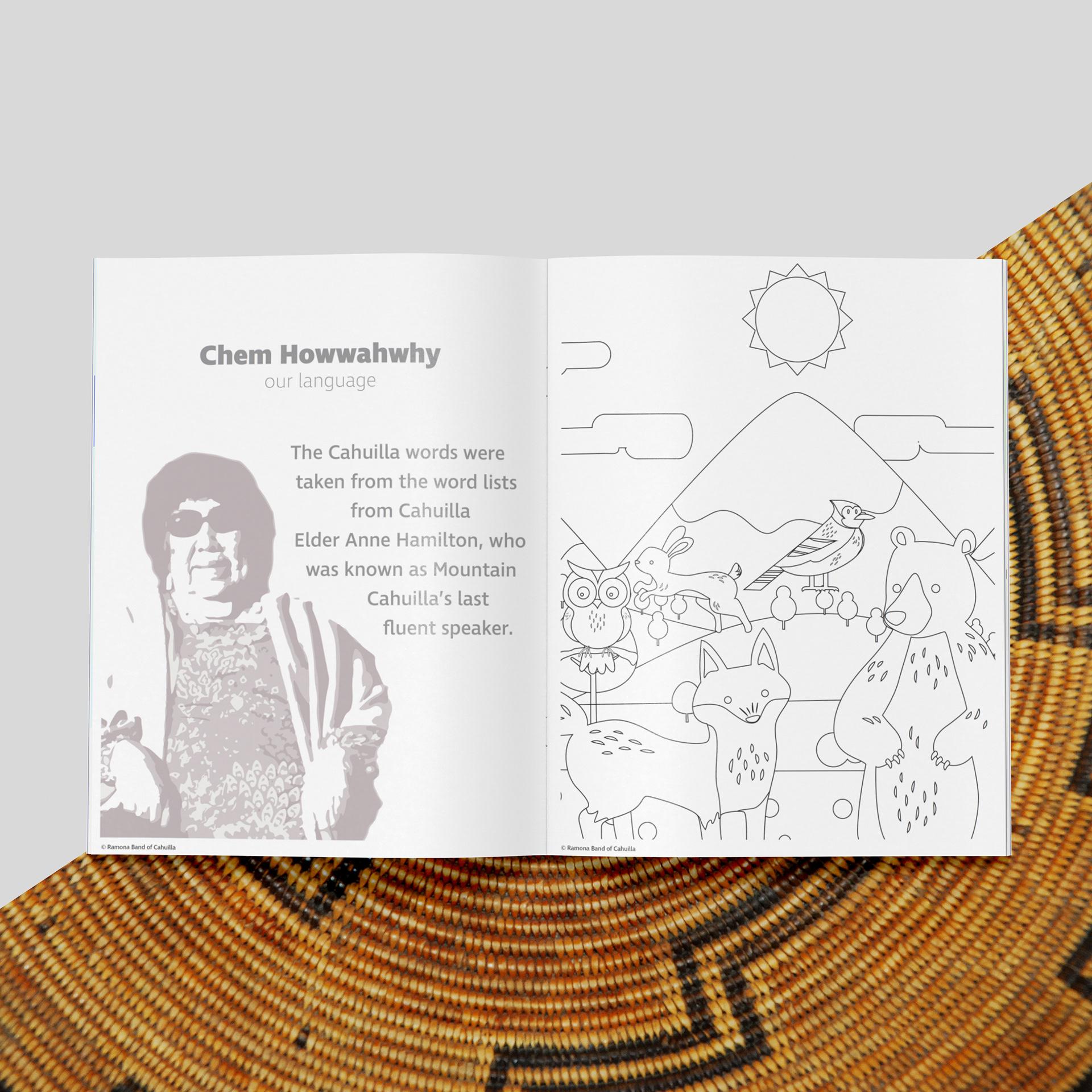 Ray Rivera Children S Native American Coloring Book Ramona Tribe