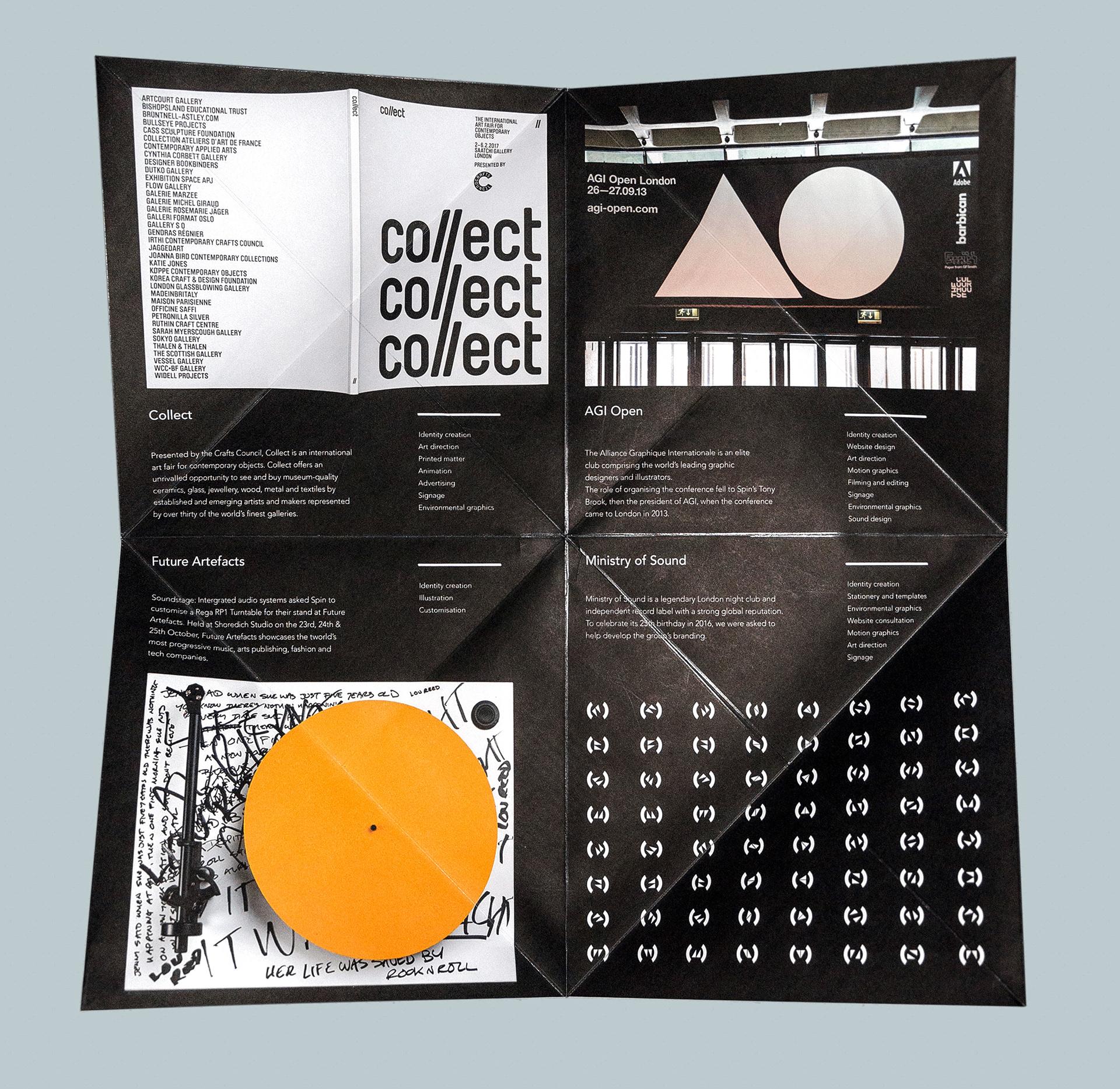 Studio Brochure   Nagedesign Portfolio Design Studio Brochure Spin